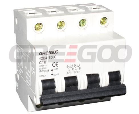 MCB/RCCB/RCBO/MCCB - MCB - 4CB Miniature circuit breakers - GREEGOO